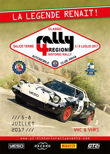 4 Regioni Historic Rally 2017