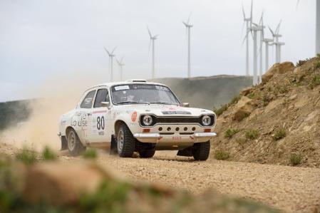 Les jeunes rallymen Alexandre Felsenhart et James de Liedekerke