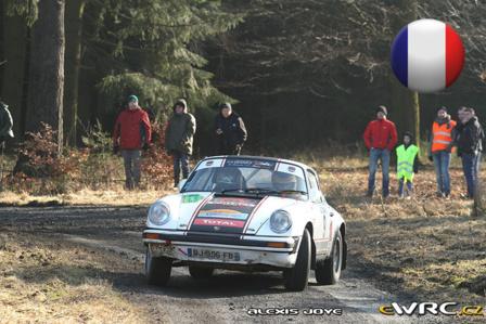Anne-Charlotte Rousseau et Françoise Conconi en Porsche 911