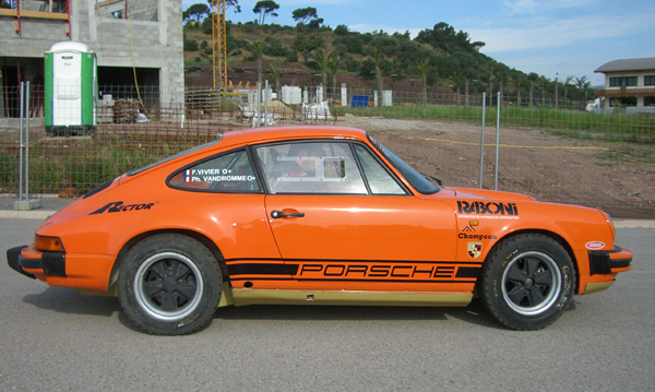 Le Team SMG prépare ses Porsche