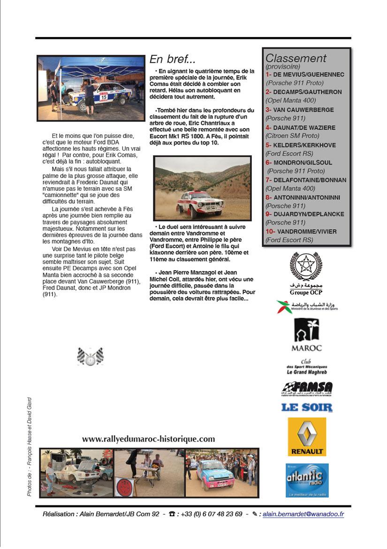 Rally News N°3 - 25 mai 2011