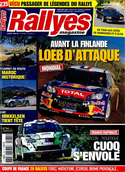 4 pages dans Rallyes Magazine