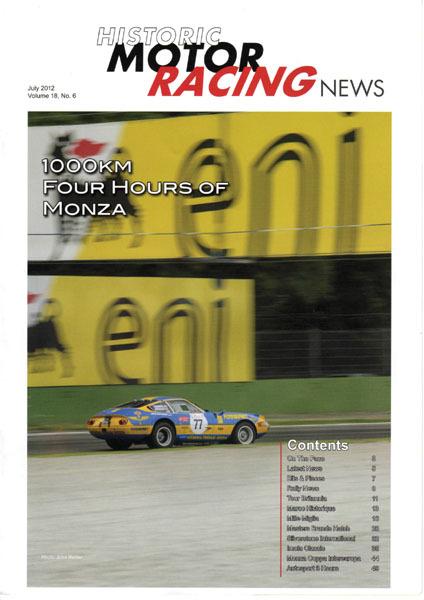 Historic Motor Racing News pour nos amis anglais