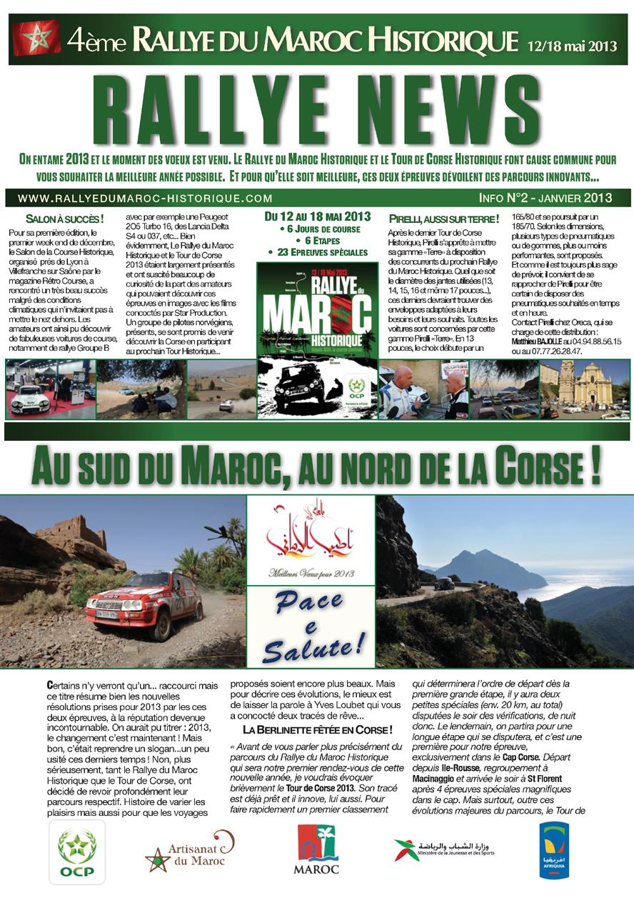Rallye News - Info N°2