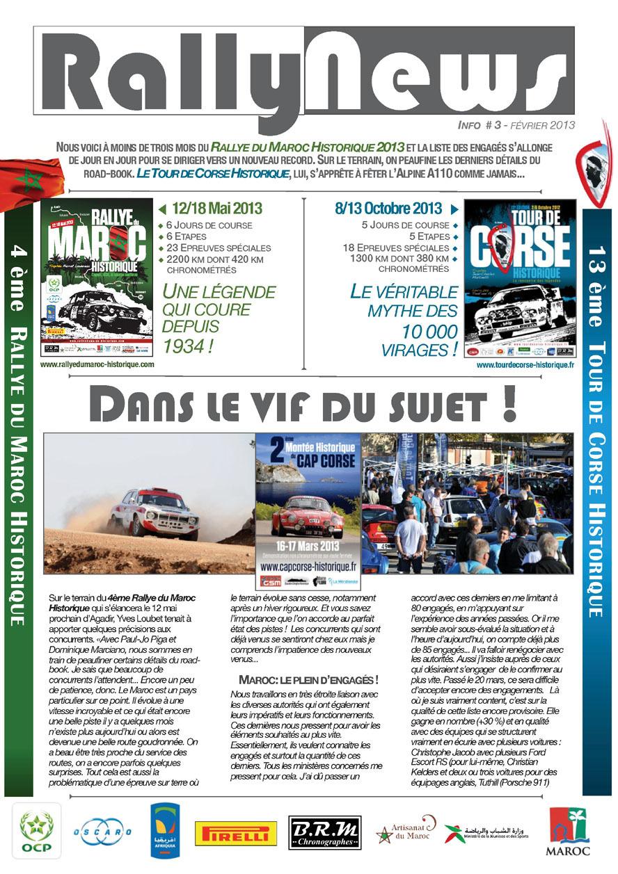 Rally News - Info N°3