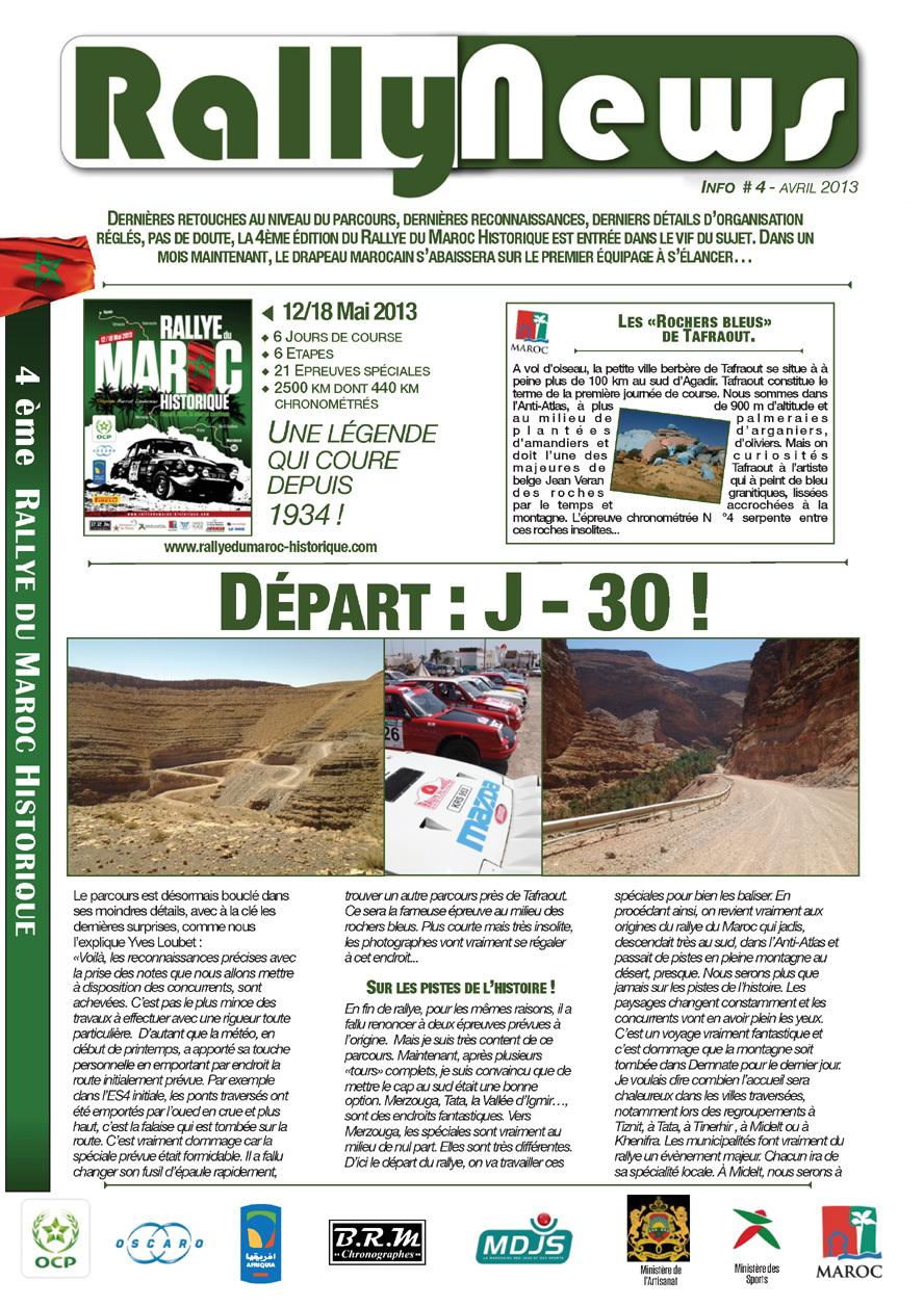 Rally News - Info N°4
