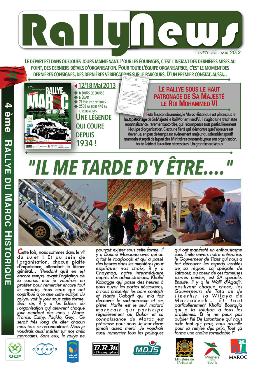 Rally News - Info N°5