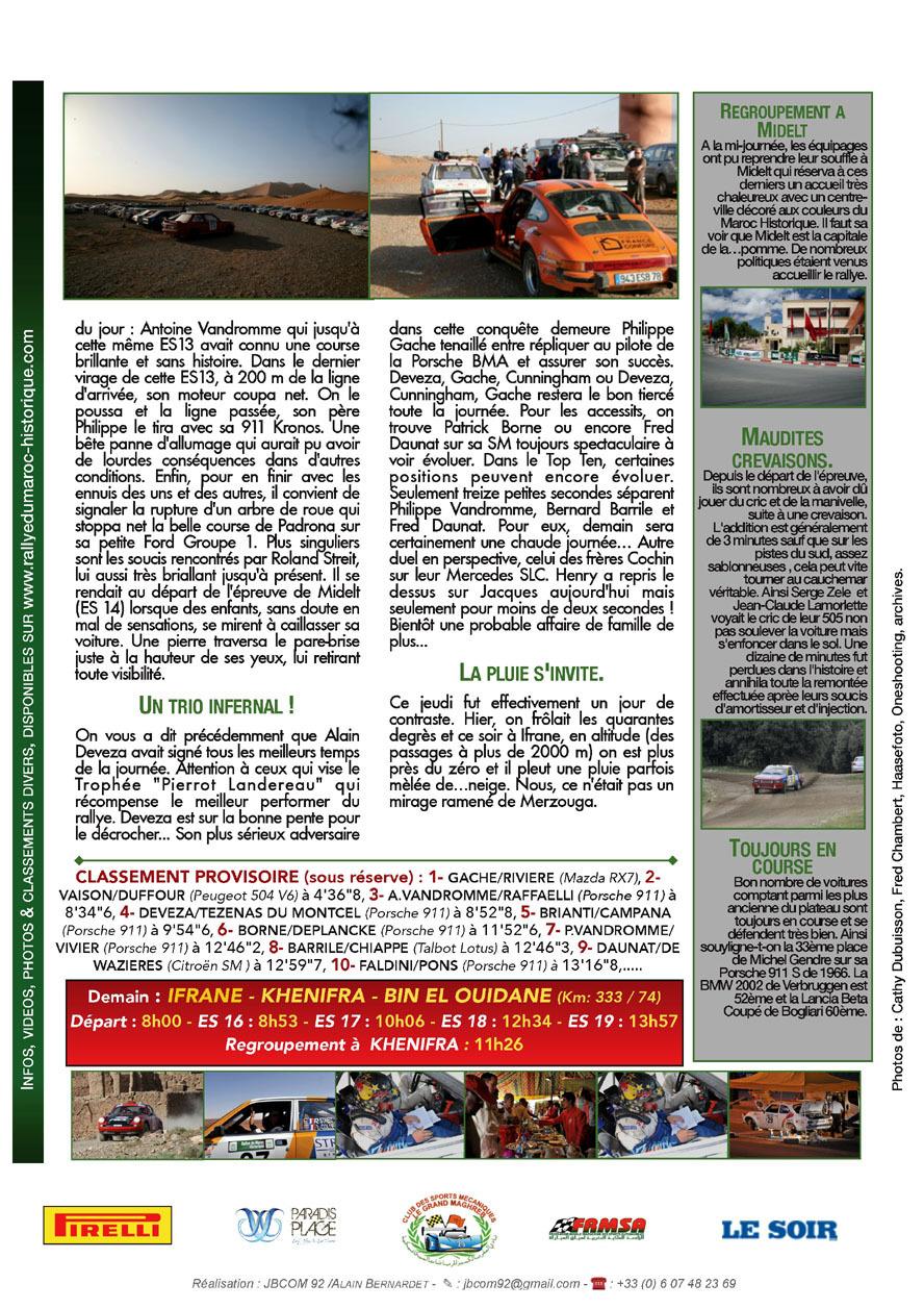 2013 Rally News - Info N°10