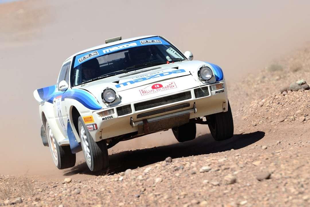 Philippe Gache et sa performante Mazda RX-7