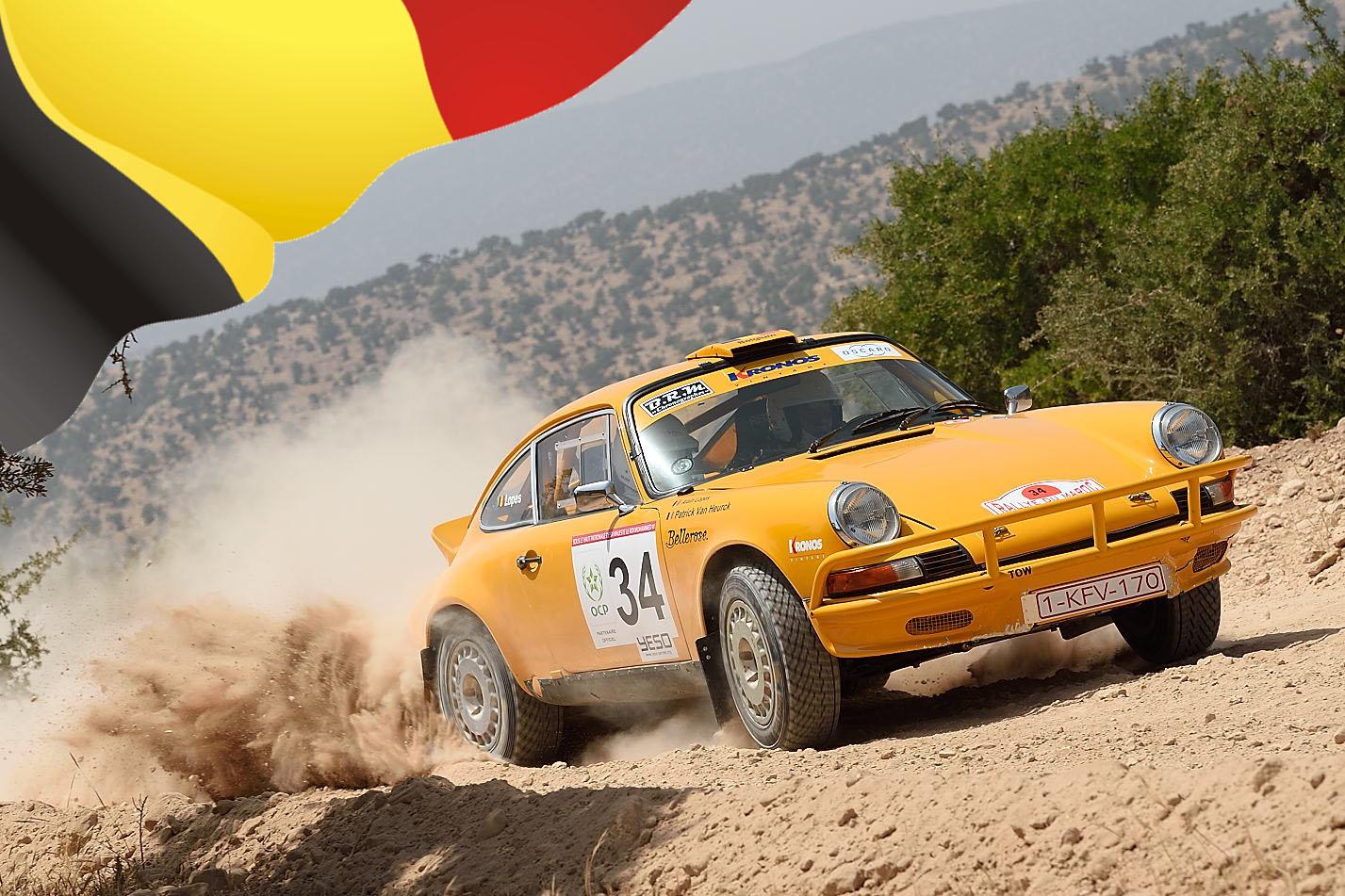 Patrick Van Heurck - Rallye du Maroc Historique 2015