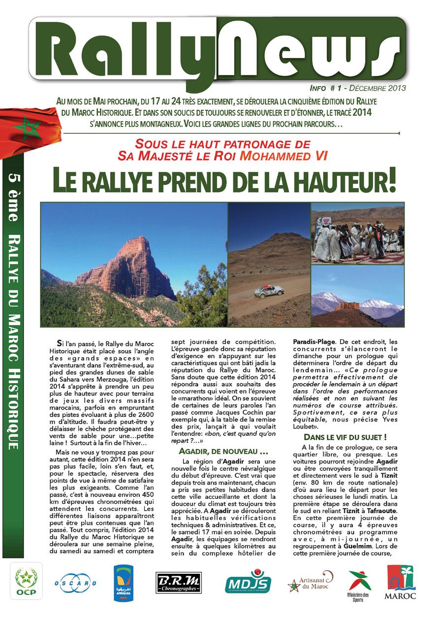 2014 Rally News - Info #1