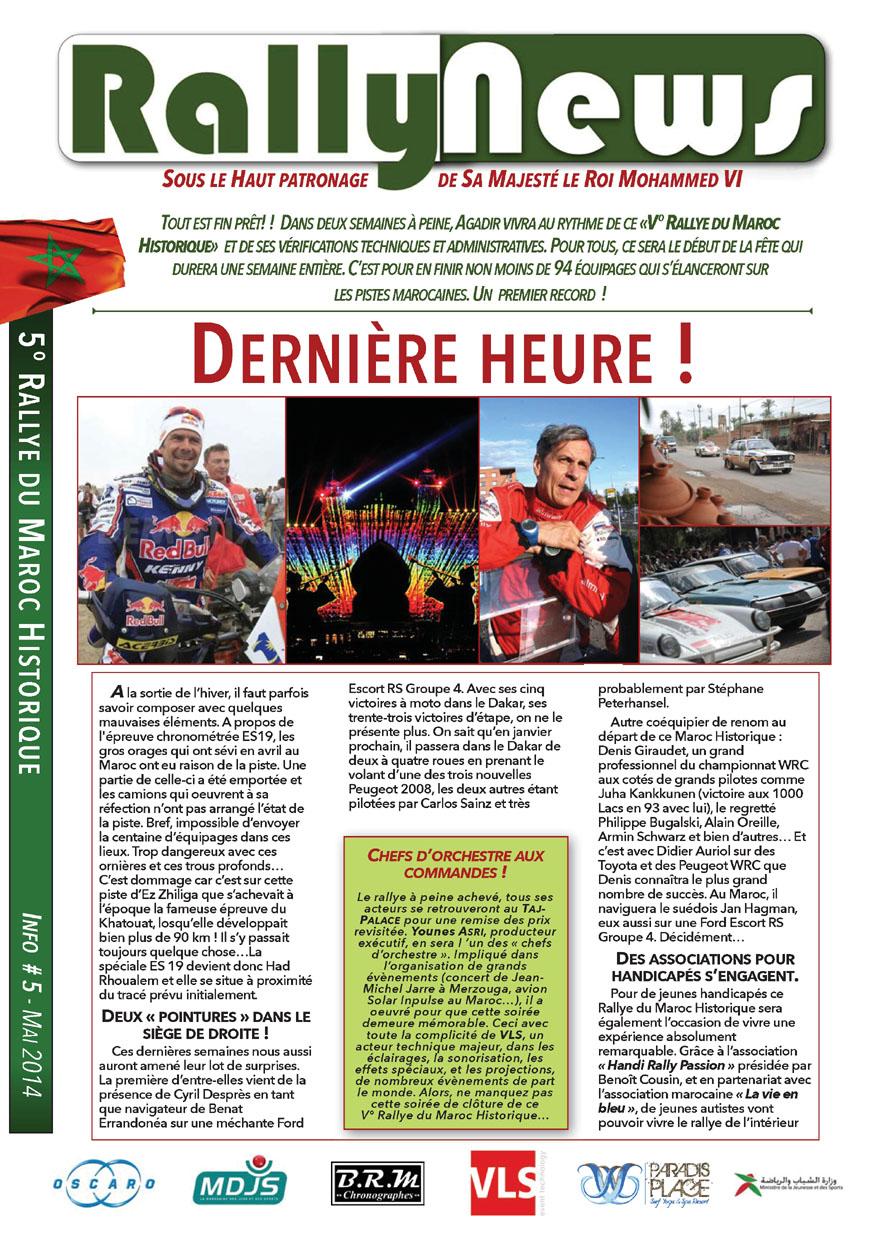 2014 Rally News - Info #5
