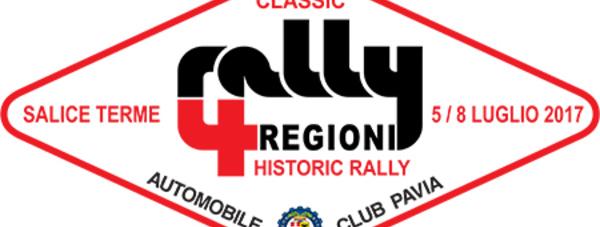 Le programme du 4 Regioni 2017 (mis à jour)