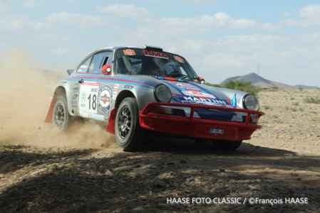 """Les Porsche """"Martini"""" de Vandromme et Brianti"""