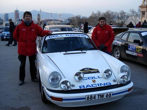 L'équipage Coll Racing - Iresa prêt pour le départ