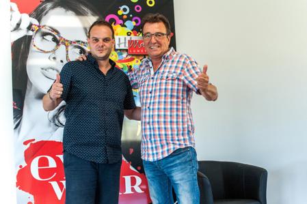 Arnaud et Hervé Mahéo, de concurrent à partenaire