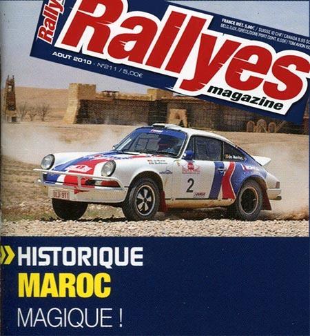 """""""Magique !"""" pour Rallyes Magazine"""