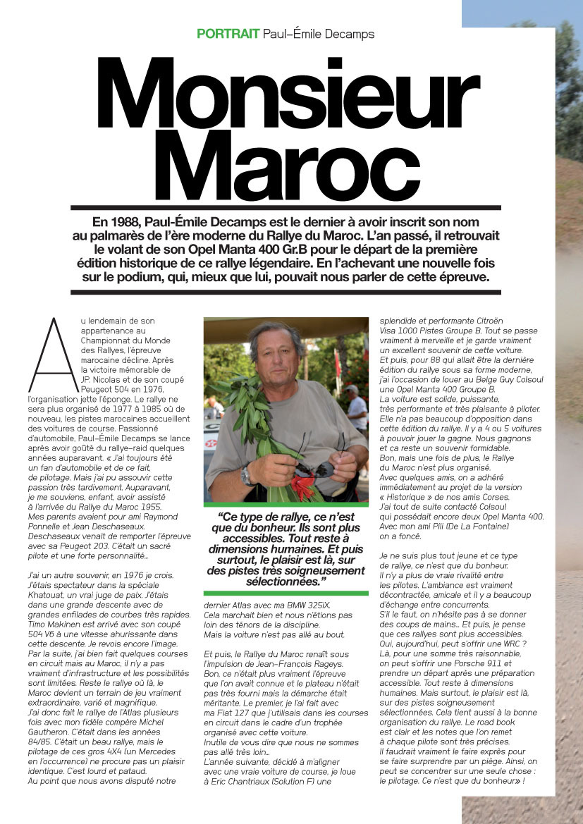 Le Mag : Monsieur Maroc