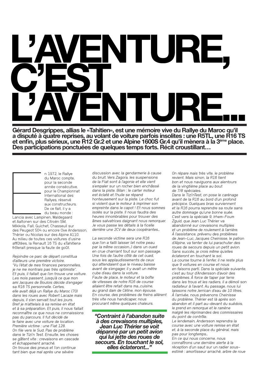 Le Mag : L'aventure c'est l'aventure