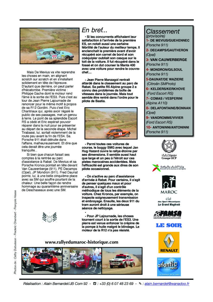Rally News n°2 - 24 mai 2011