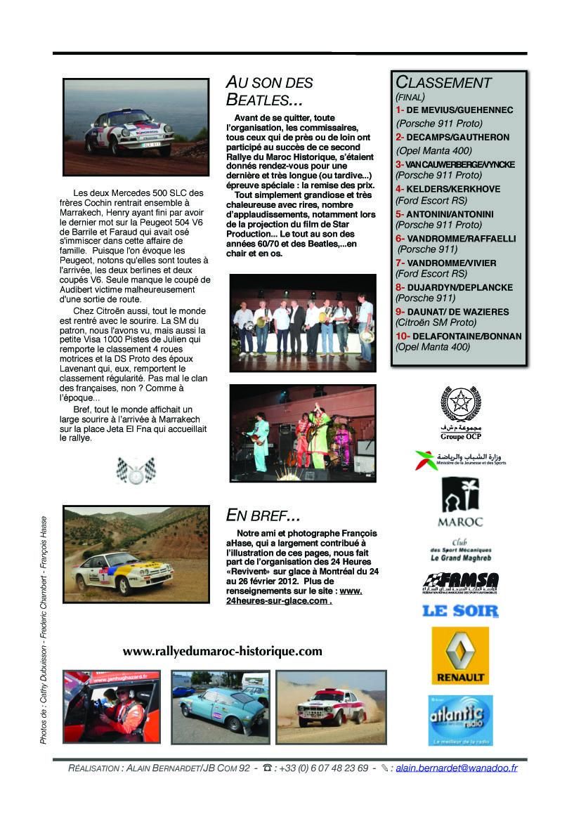 Rally News N°6 - 28 mai 2011