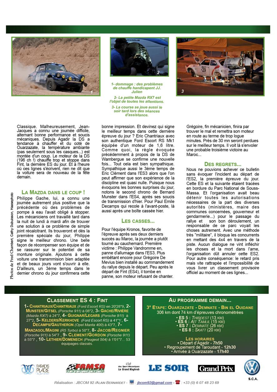 Rally News - Info N°6