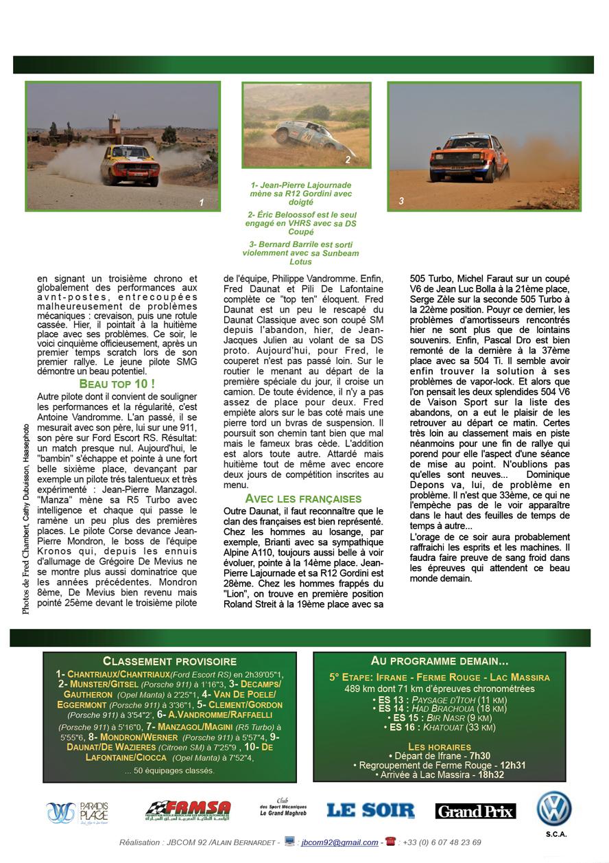 Rally News - Info N°8