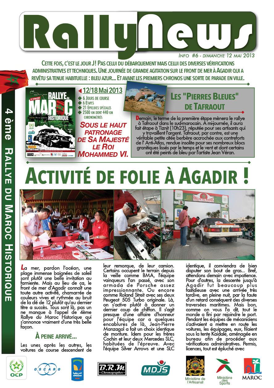 2013 Rally News - Info N°6