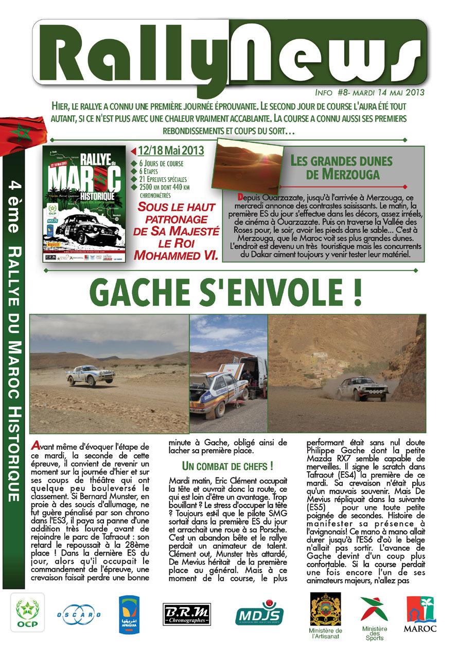 2013 Rally News - Info N°8