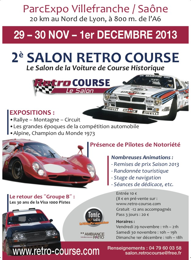 Salon Retro Course
