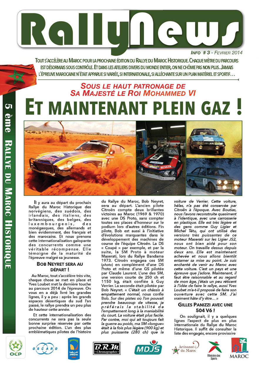 2014 Rally News - Info #3