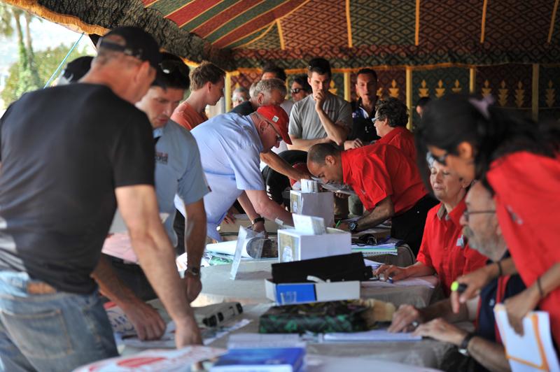 Secrétariat du Rallye et Vérifications Administratives