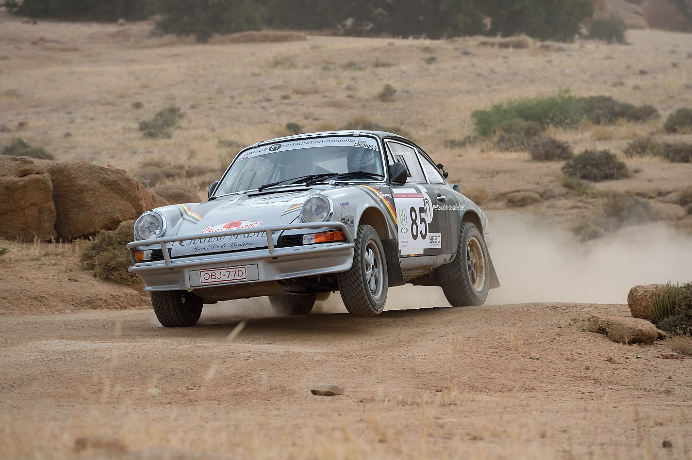 Albert Michiels - Rallye du Maroc Historique 2015