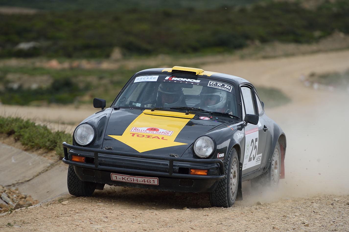 Jean-Michel Martin - Rallye du Maroc Historique 2015