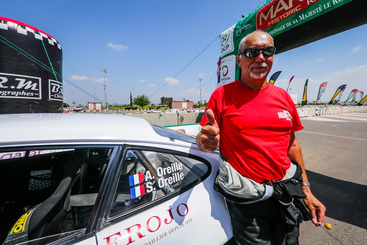 Alain OREILLE gagne le MAROC HISTORIC 2019 !