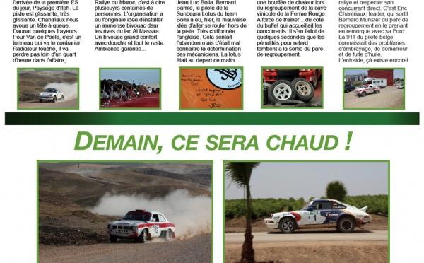 Rally News - Info N°9